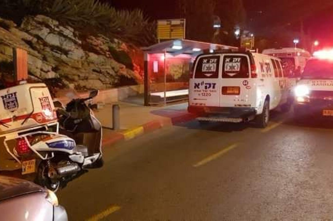 14 جريحا غالبيتهم جنود الإحتلال في عملية دهس وسط القدس