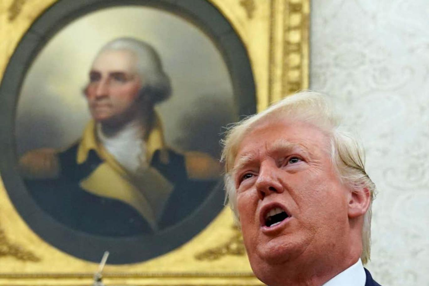 أي دروس يستقي ترمب من جورج واشنطن اندبندنت عربية