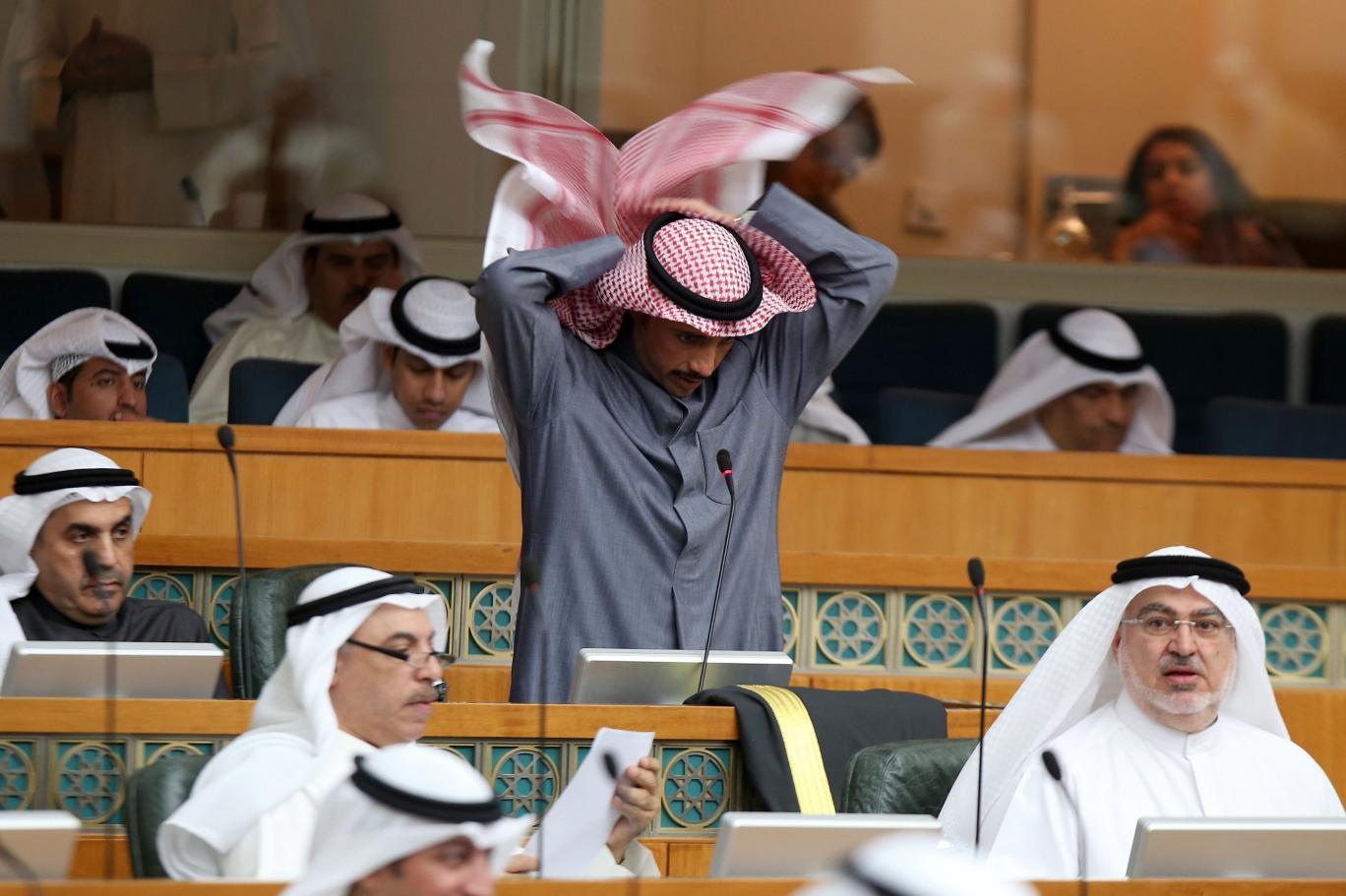 الكويت، مجلس الأمة، مرزوق الغانم،  صباح الخالد،  المعارضة الكويتية حربوشة نيوز