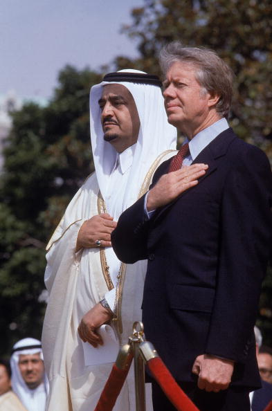 Jim Carter and King Fahd.jpg
