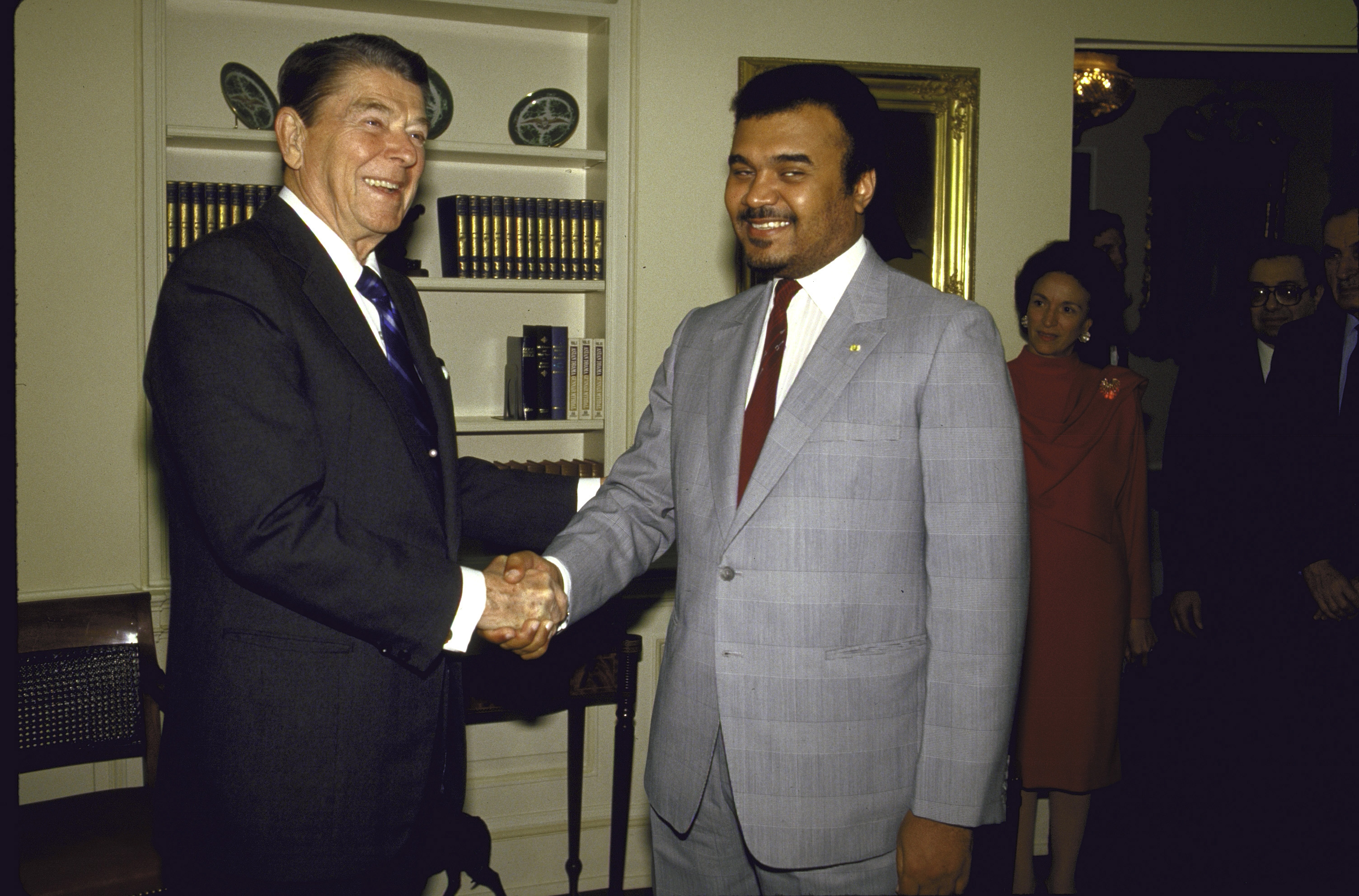 Reagan and Bandar.jpg