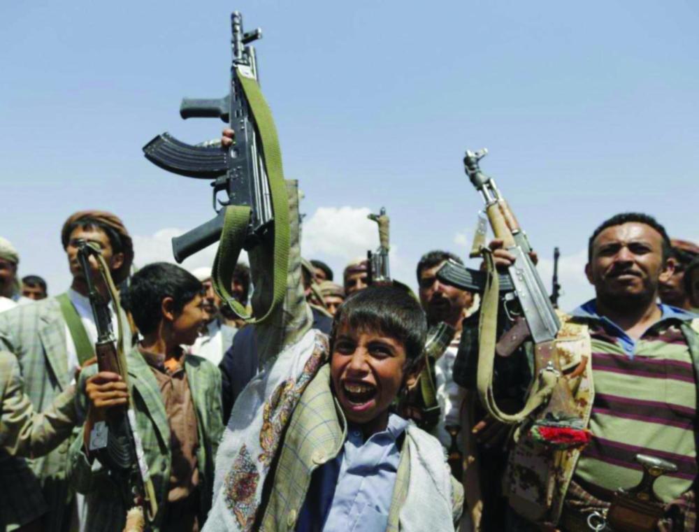 المليشيات تعمد إلى تجنيد الأطفال في اليمن.jpg