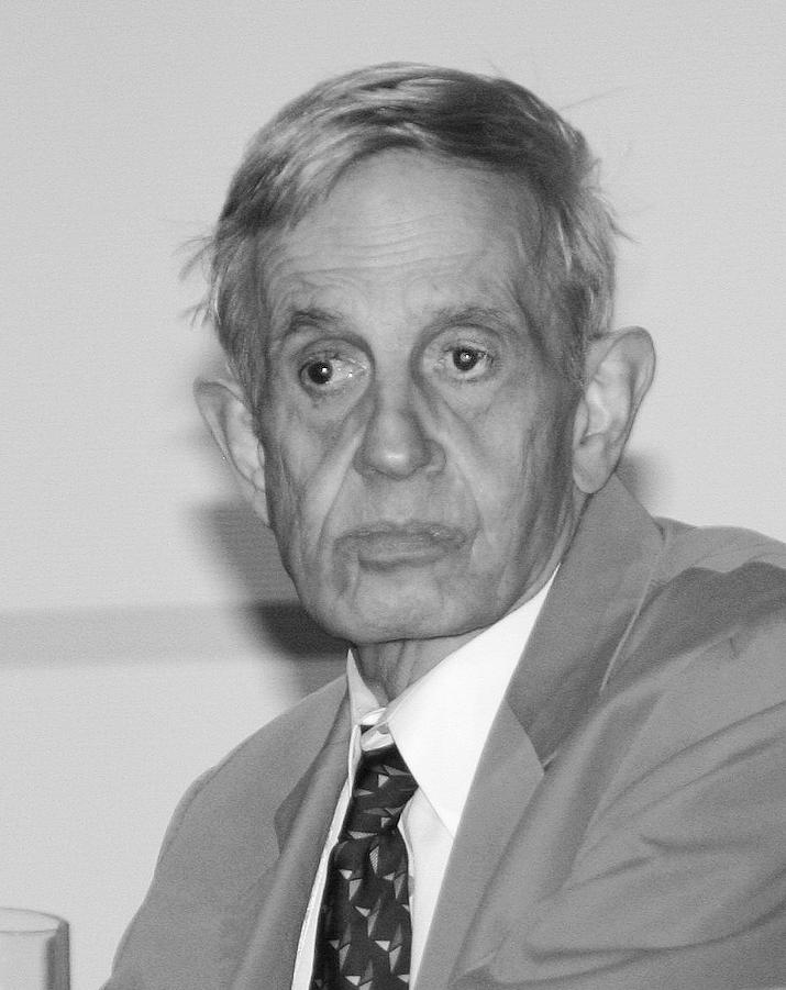 قاوم عالِم الرياضيات الأميركي جون ناش شيزوفرينيا ضربته في بداية تألقه علمياً