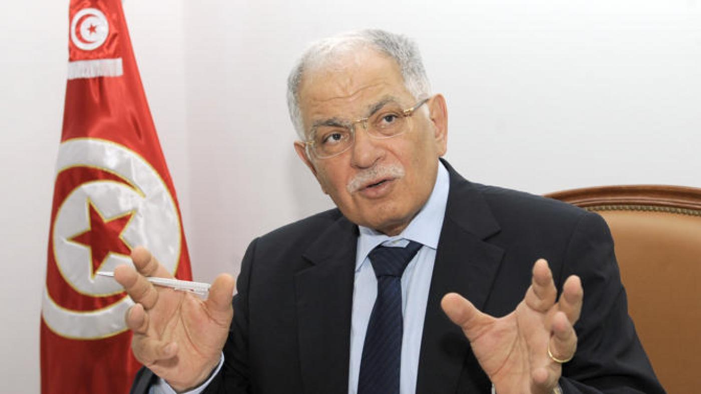 مؤسس حزب المبادرة الدستورية كمال مرجان (أ.ف.ب)