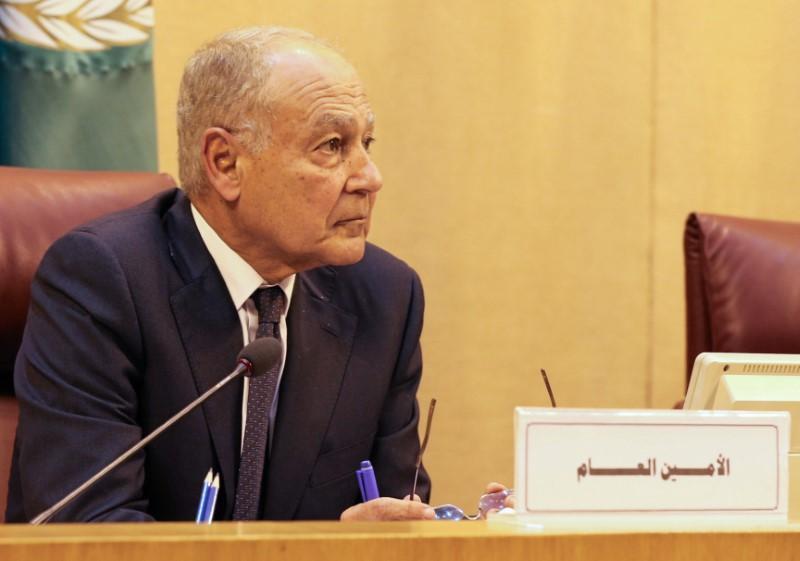 أحمد أبو الغيط الأمين العام لجامعة الدول العربية. (رويترز)