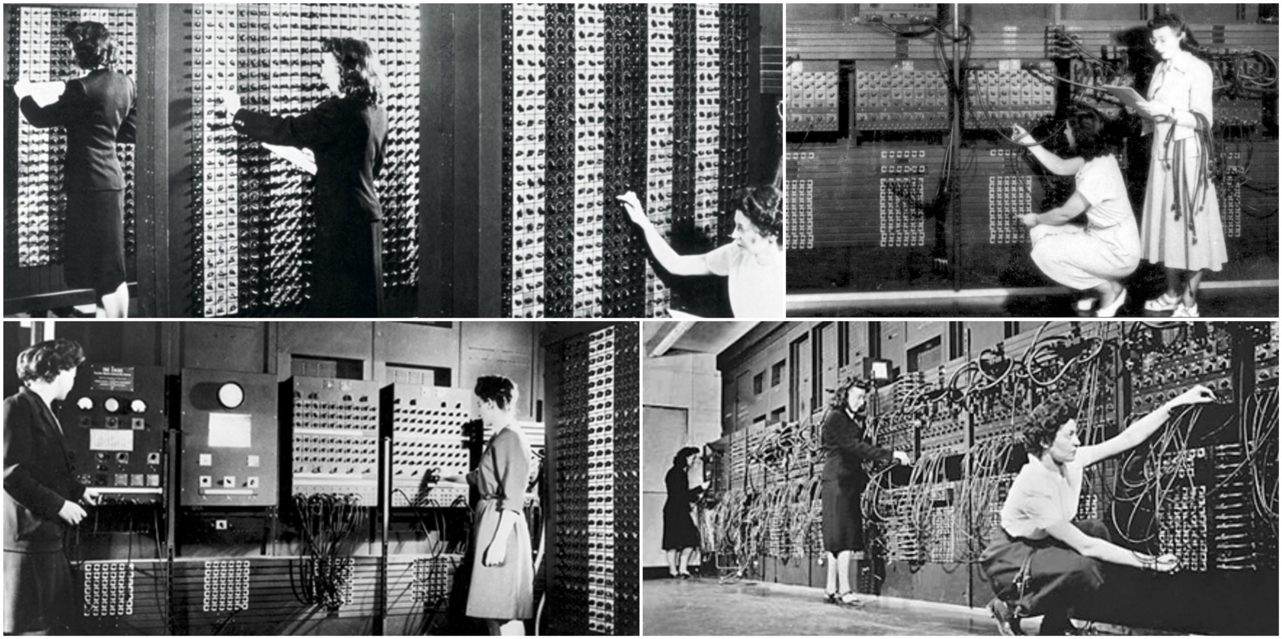 بعقولهن وأيديهن أدرن الكومبيوتر الأول في التاريخ أثناء الحرب العالمية الثانية