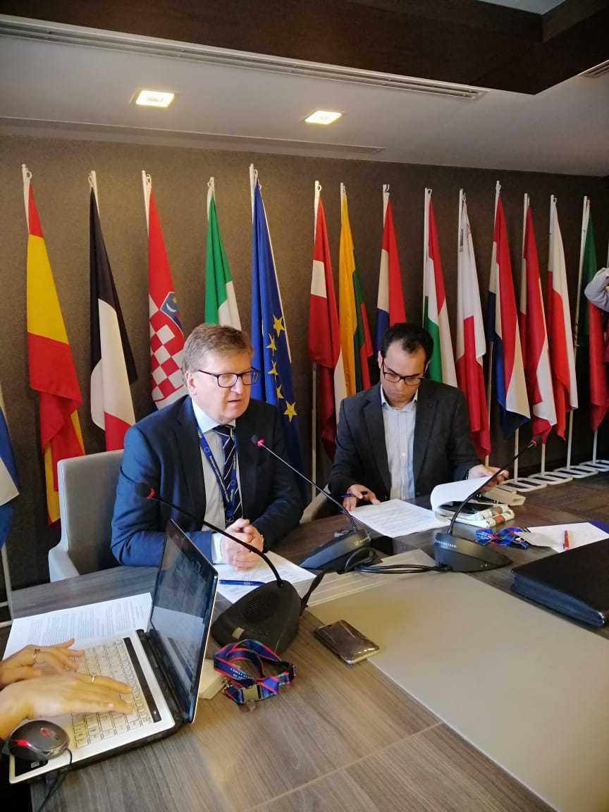 إيفان سوركوش سفير الاتحاد الأوروبي في القاهرة. (أحمد عبد الحكيم. إندبندنت عربية)