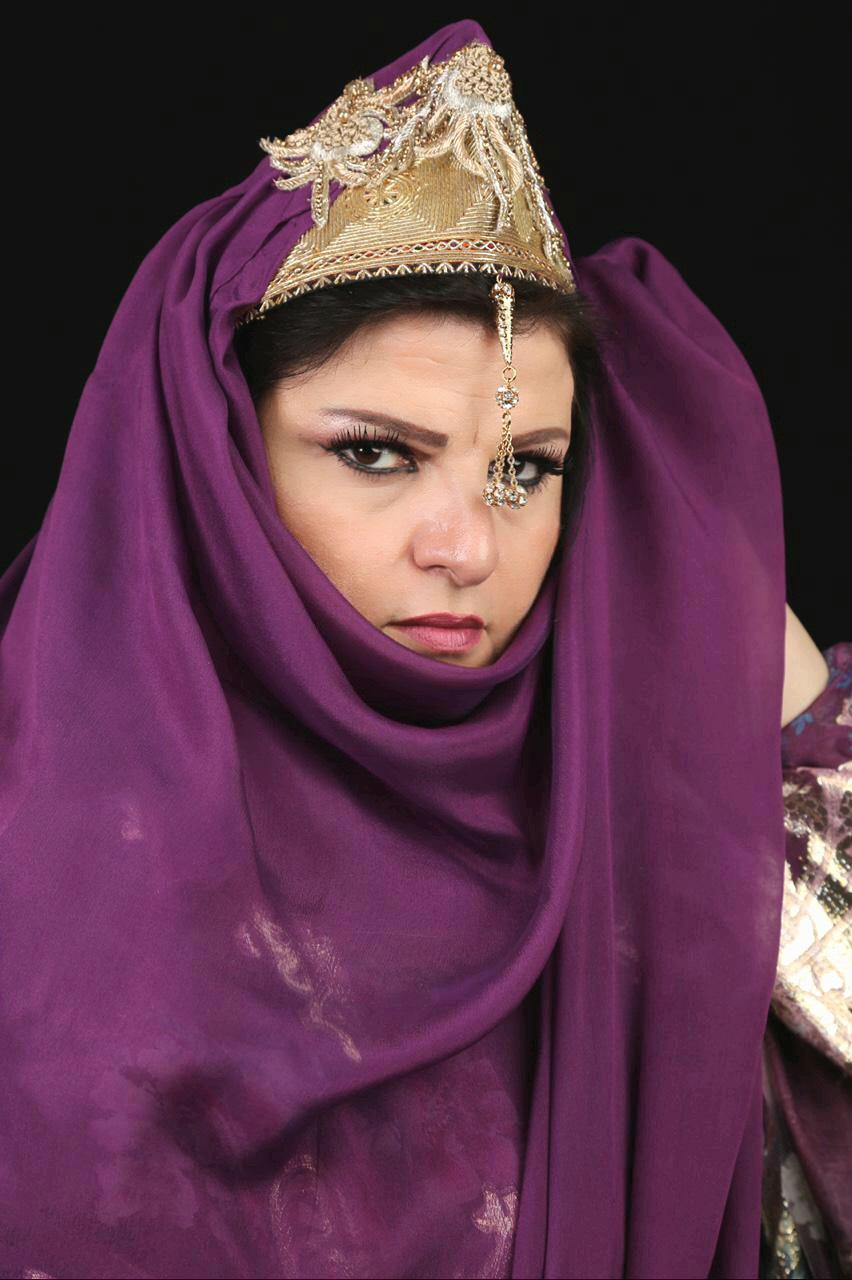 """جاهدة وهبي في دور """"شهرزاد"""" (اندبندنت عربية)"""