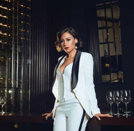الممثلة منة شلبي. ( الصفحة الرسمية للفنانة على إنستغرام)