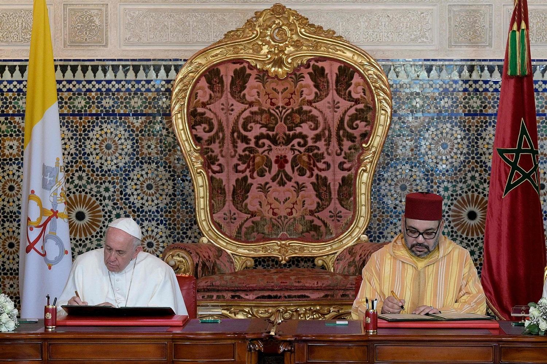 pope in morocco afp.jpg