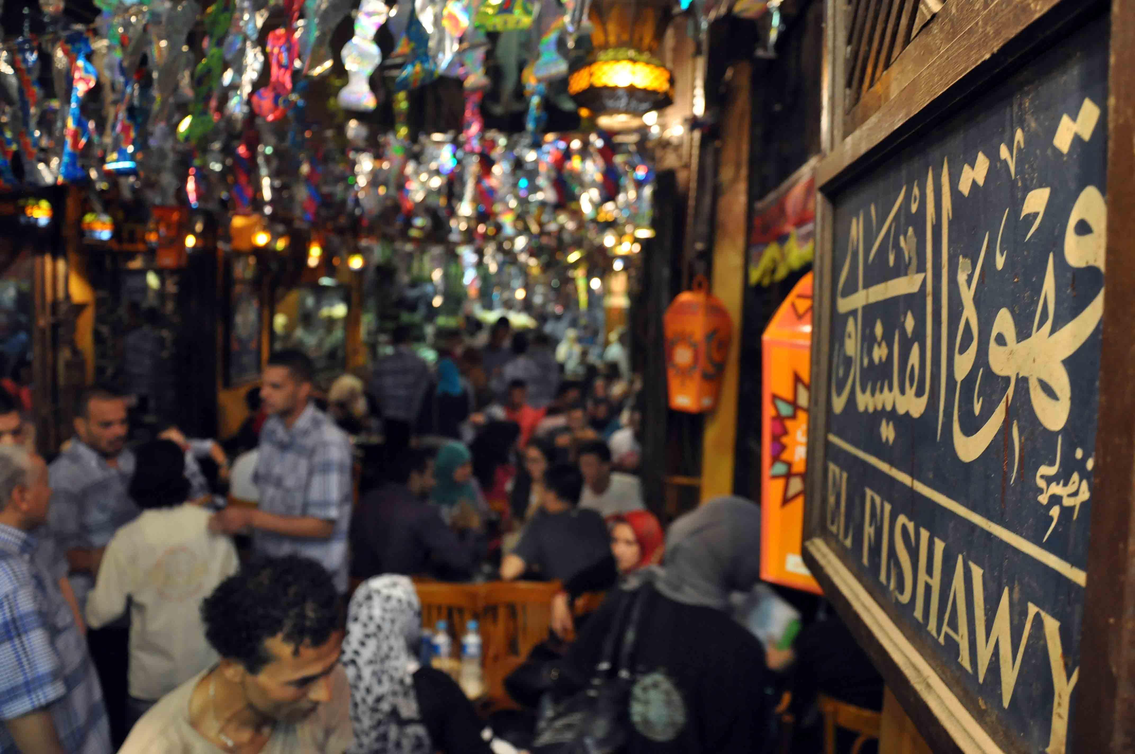 مقهى الفيشاوي أشهر مقاهي المثقفين في مصر (خاص.إندبندنت عربية)