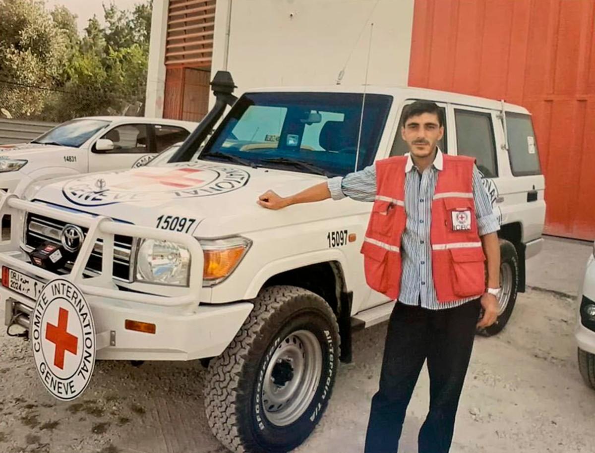 السائق نبيل بقدونس (اللجنة الدولية للصليب الأحمر)