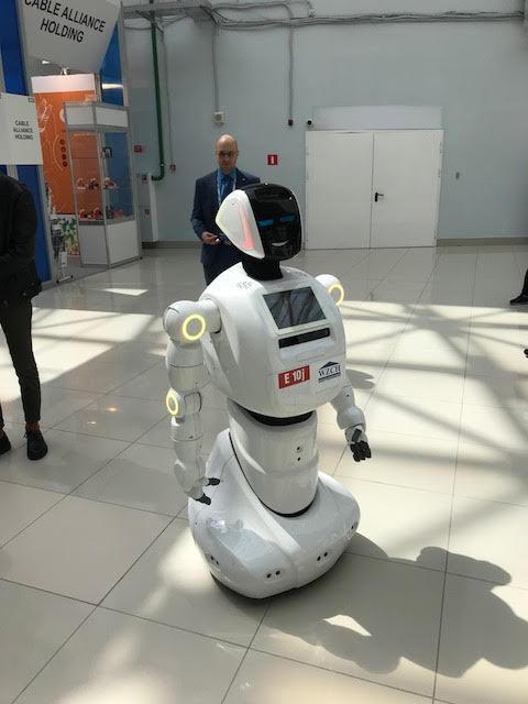 روبوت لتنفيذ التعليمات في مجال الطاقة النووية (إندبندنت عربية)
