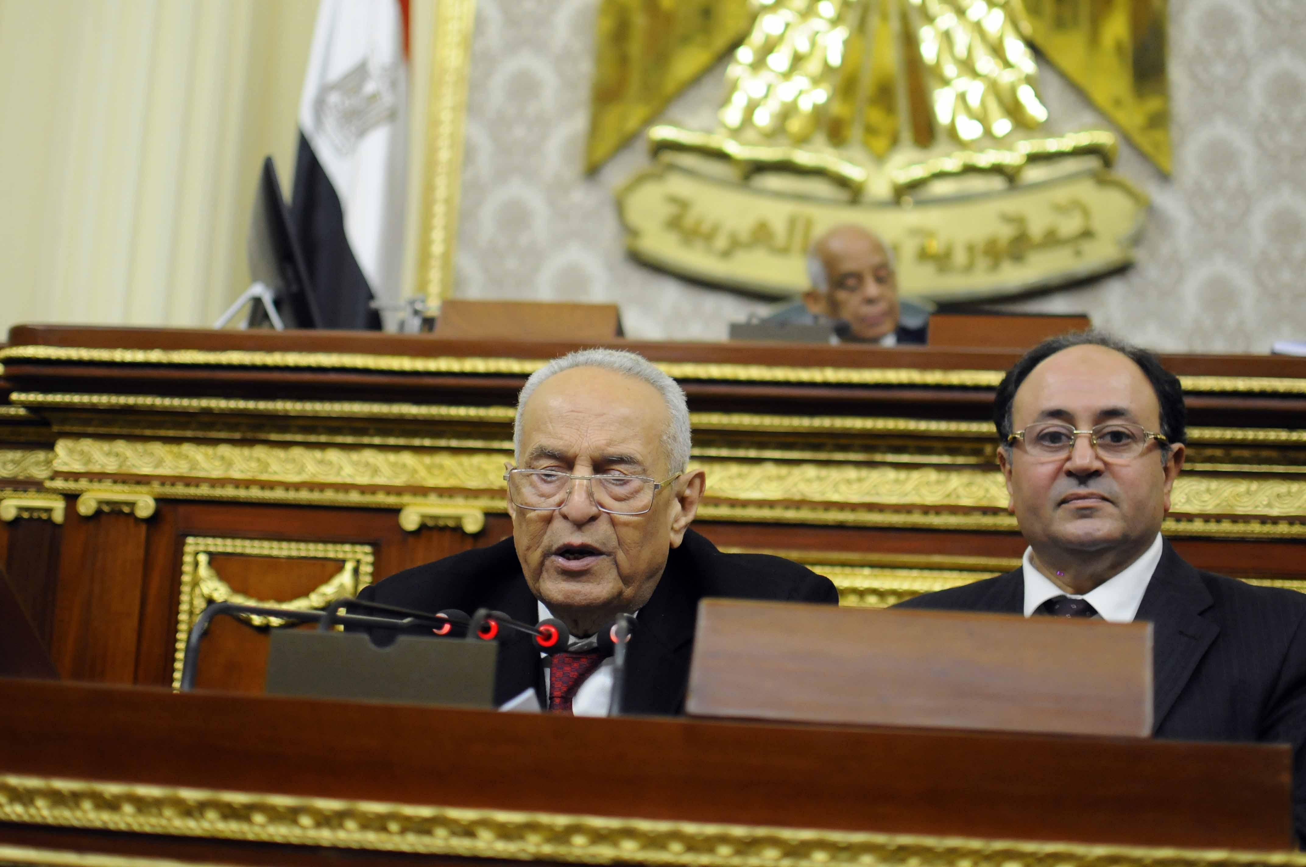 رئيس اللجنة التشريعية بمجلس النواب المصري بهاء أبو شقة (خاص إندبندنت عربية)