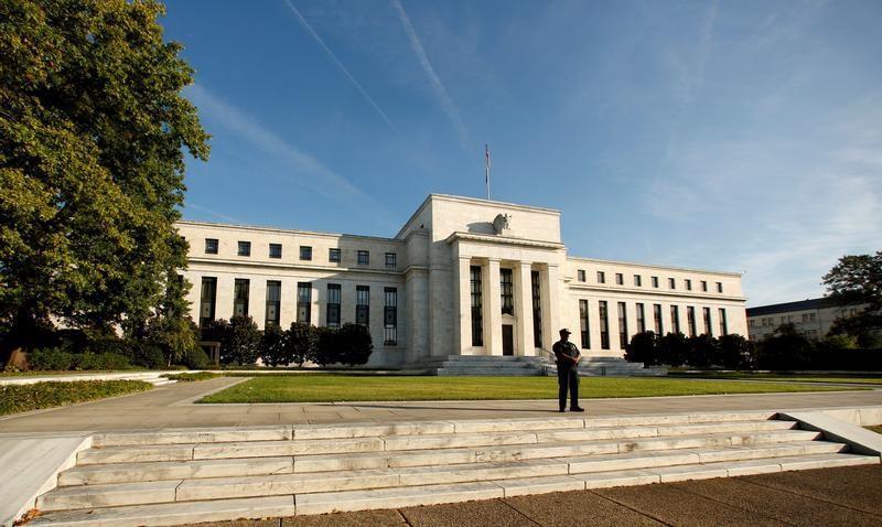 مقر مجلس الاحتياطي الاتحادي في واشنطن (رويترز)