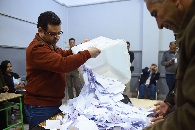 شارك في الاستفتاء 27 مليوناً و193 ألفاً و593 ناخباً (أ.ف.ب)