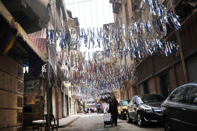 الشوارع المصرية تتزين احتفالا باقتراب قدوم شهر رمضان (تصوير حسام علي إندبنديت عربية)