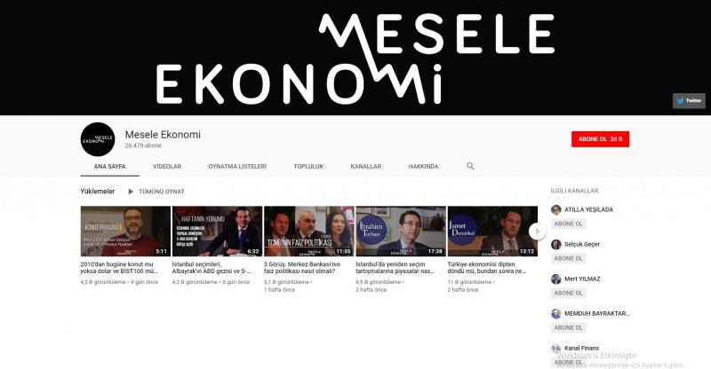 برنامج قضية الاقتصاد على يوتيوب (إندبندنت تركية)