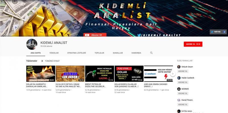 قناة المحلل المخضرم على يوتيوب (إندبندنت تركية)