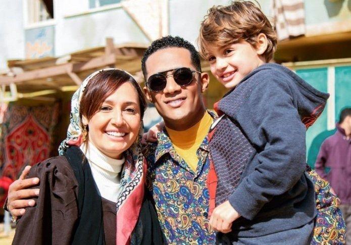 """الفنان محمد رمضان  يشارك حلا شيحة بطولة مسلسل """"زلزال""""  (الصفحة الرسمية لرمضان على فيسبوك)"""