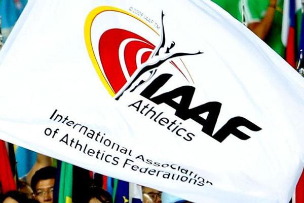 شعار الاتحاد الدولي لألعاب القوى  (الموقع الرسمي للاتحاد)