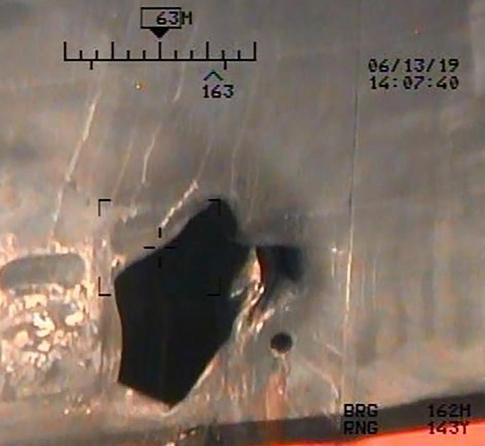إحدى الصور التي نشرتها وزارة الدفاع الأميركية