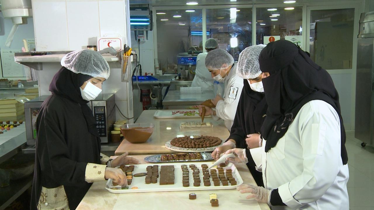 أنوار الدوسري في مصنع الشوكولاتة (1).JPG