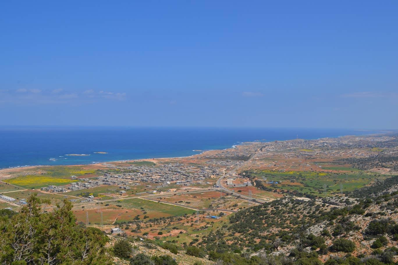 موقع ميناء المياه العميقة المستقبلي في سوسة، ليبيا (ذي إندبندنت)