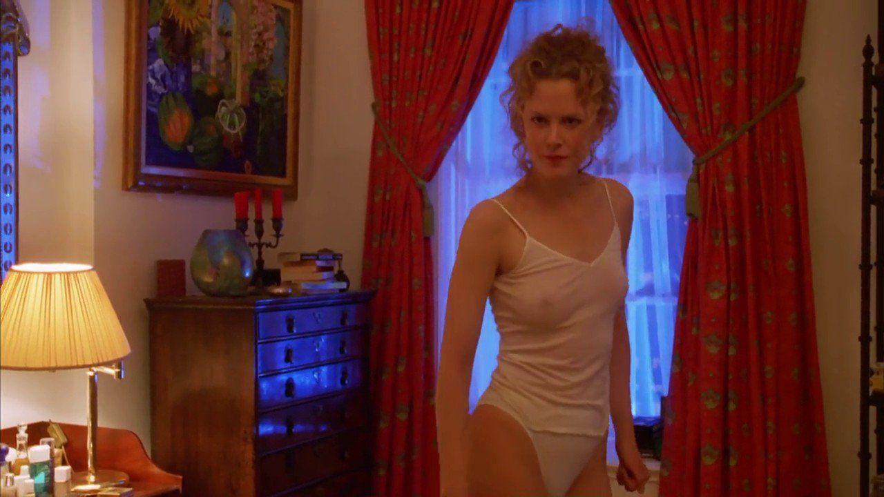 مُنِعَ الممثل كروز من حضور جلسات تصوير المشاهد الجنسيّة التي تؤديها كيدمان التي كانت زوجته آنذاك (موقع بينرِست.كوم)