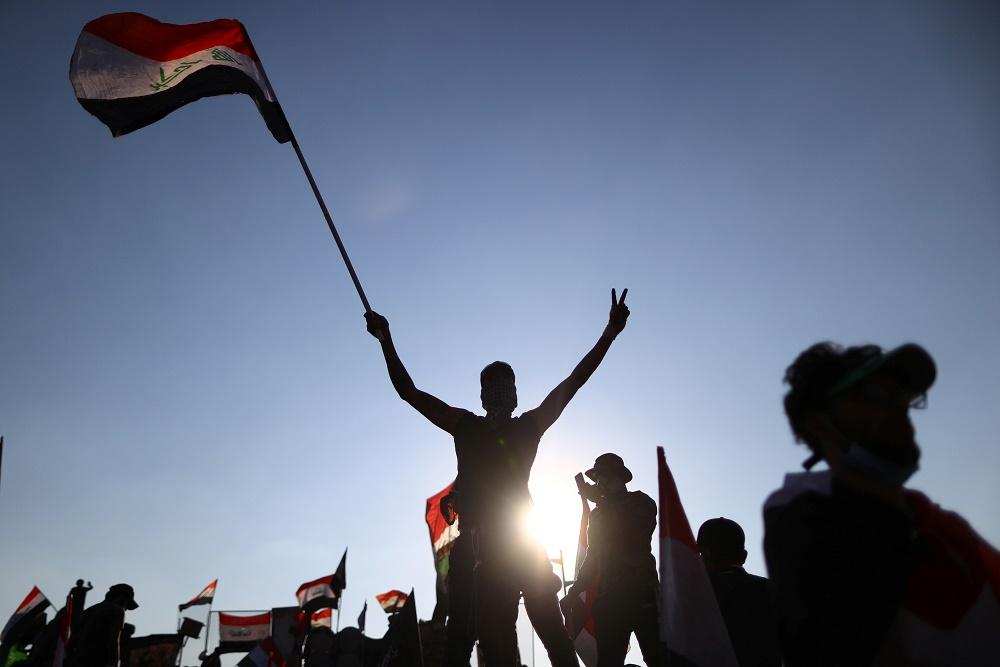 تظاهرات مناهضة للحكومة في العراق.jpg