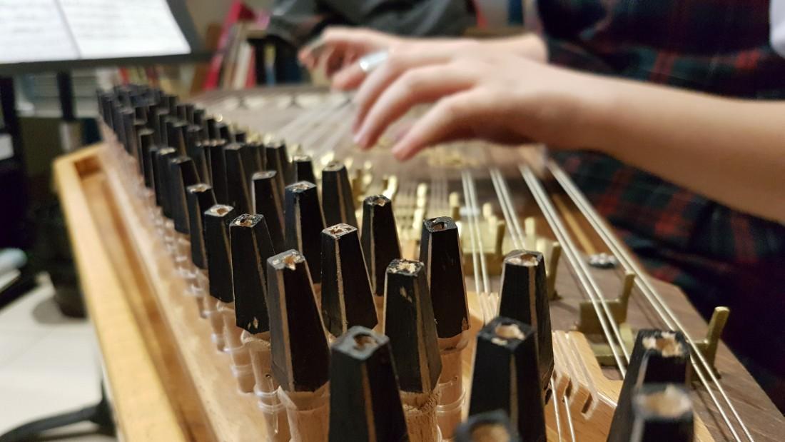معهد إدوارد سعيد الوطني للموسيقى في مدينة رام الله (اندبندنت عربية)