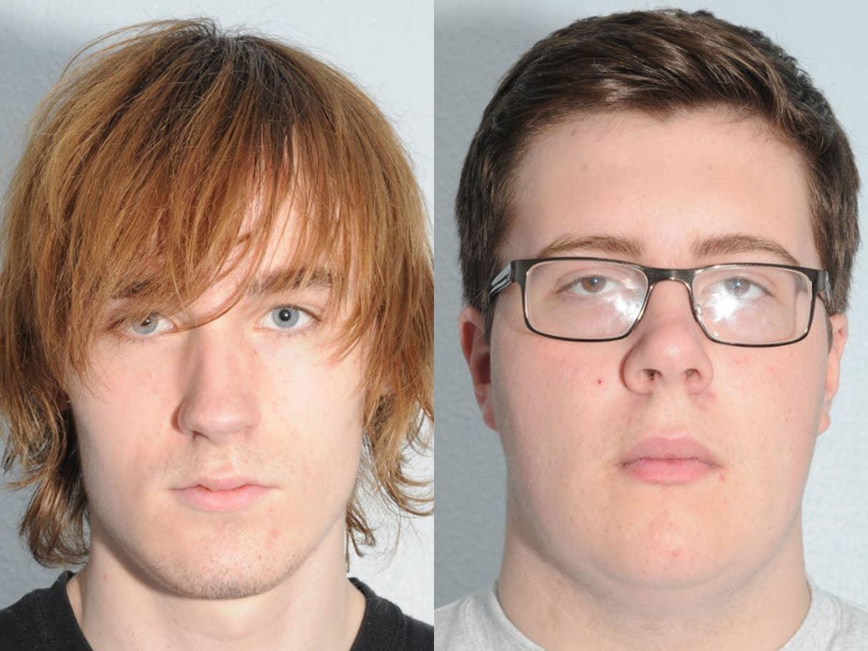 توماس مايلي وألكس بولاند مراهقان خططا لهجوم مسلح على مدرستهما في يوركشاير الإنجليزية (عن شرطة مكافحة الإرهاب في شمال غرب إنجلترا)