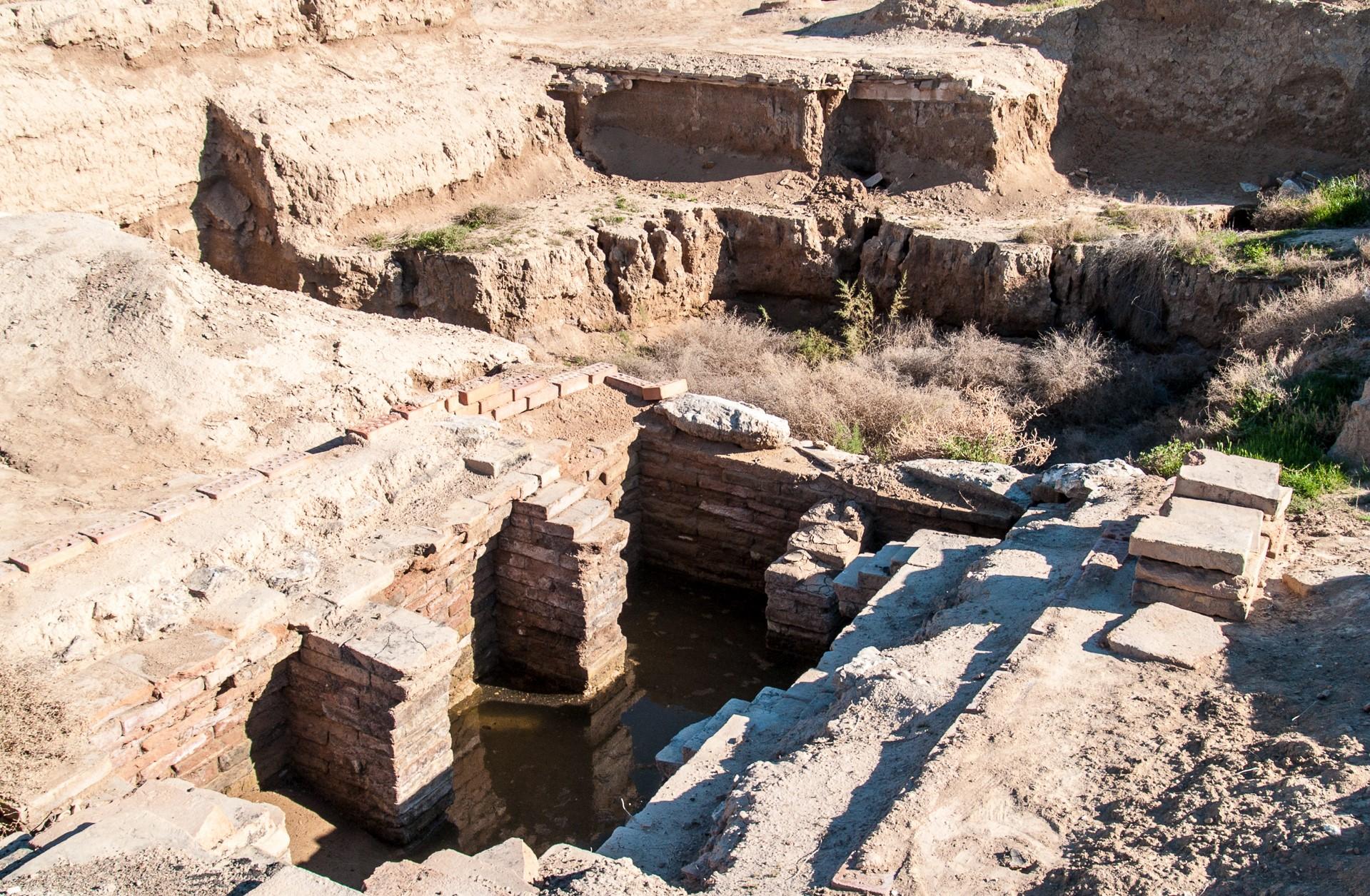 تذكر المراجع أن السومريين استوطنوا ماري ومن بعدهم الأكاديون (دانيل ديمتر)