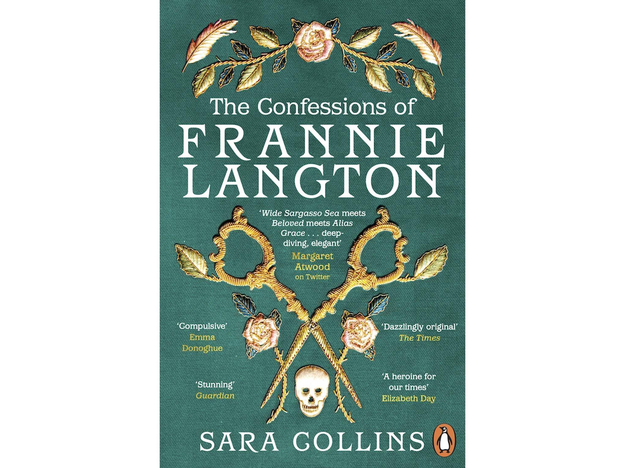 """""""ذا كونفيشنز أوف فراني لانغتون"""" (اعترافات فراني لانغتون) للمؤلفة سارة كولينز عن دار پينغوين للنشر"""
