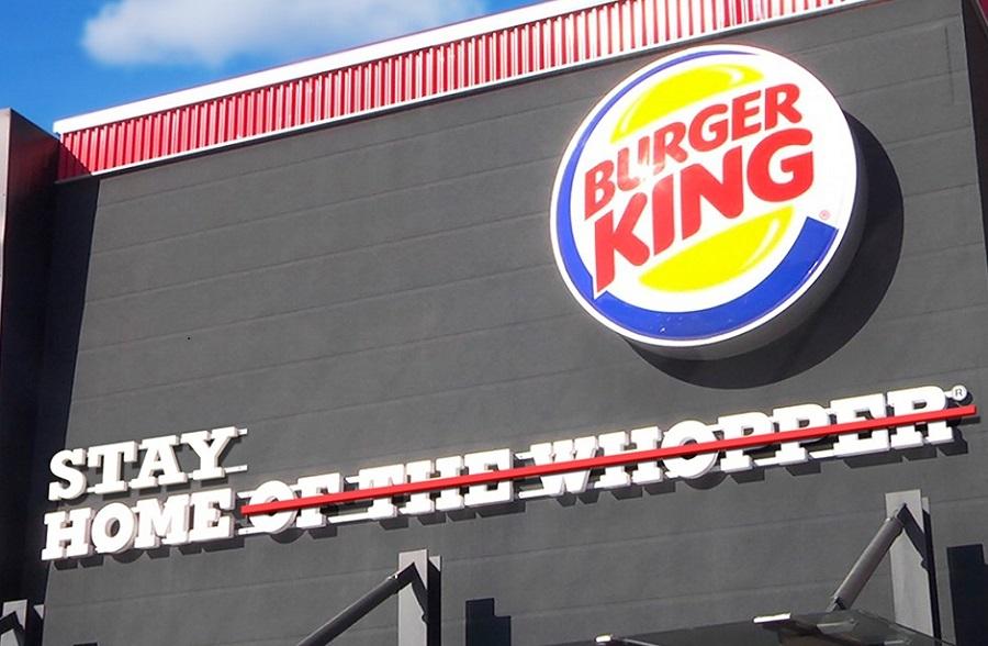 تحويل سلوغن Burger King إلى stay home (صفحة Burger King France على فيسبوك).jpg