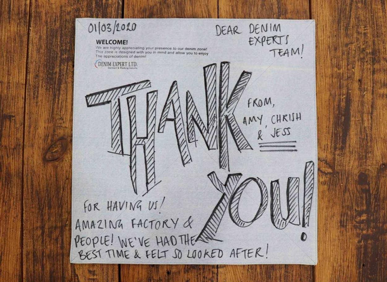 """رسالة """"شكر"""" من موظفي """"أركاديا"""" إلى شركة مستفيض الدين – وبعد أسبوعين، ألغت """"أركاديا"""" طلبيات بـ2.5 مليون دولار، وفق مستفيض الدين"""