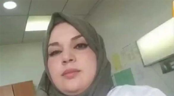 الطبيبة الحامل وفاء بوديسة.jpg