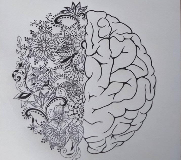 الدماغ بنصفه الفني واللوجستي من رسم كريستين - اندبندنت عربية.jpg