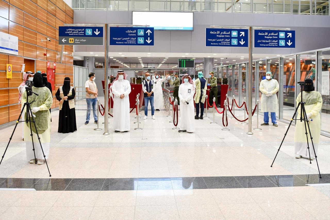 استعدادات المطارات السعودية مع بدء استناف الرحلات الداخلية.jpg