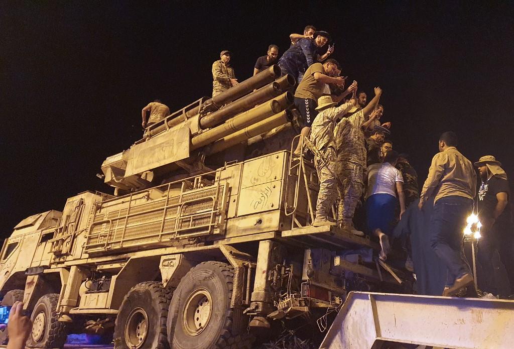 منظومة دفاع جوي روسية في ليبيا . ا ف ب.jpg