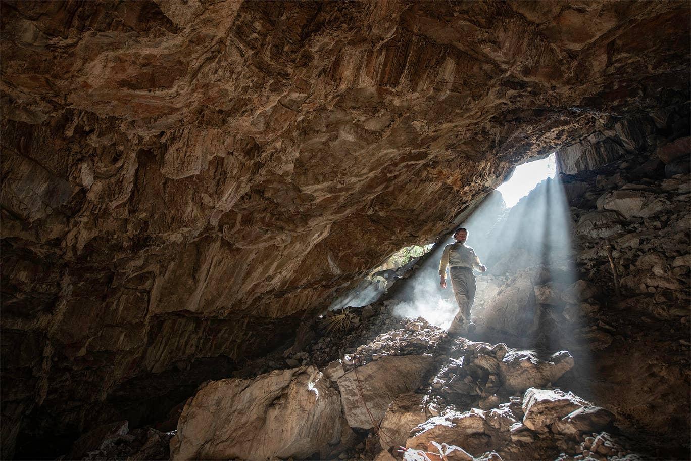 إثارة علمية كبيرة ترافق المكتشفات الآثارية الجديدة في كهف ناءٍ بولاية زاكاتيكاس المكسيكية