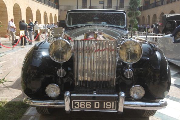 سيارة الملك فيصل الأول الذي حكمت سلالته العراق بين 1921 و1958.jpg
