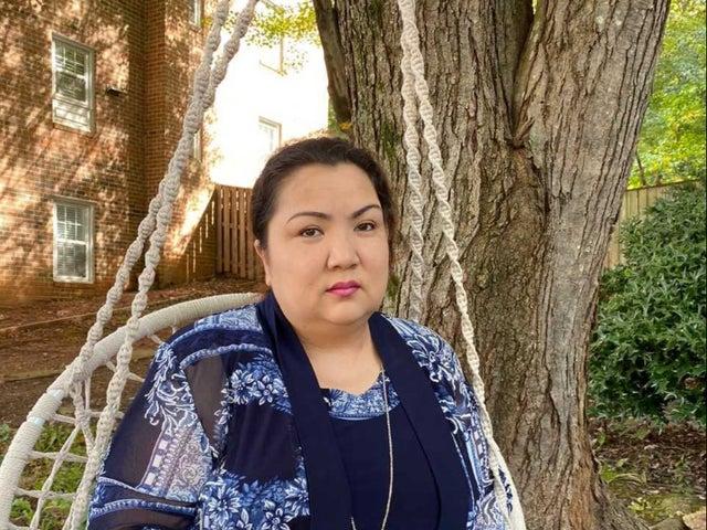 زمرت داود قالت إنها تعرضت للتعذيب في أحد معسكرات الاعتقال الصينية (عن روكسي بوب )