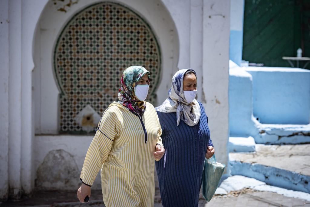 أسفرت الجائحة عن تدهور ملحوظ في الأمن المعيشي لملايين النساء في العالم العربي (أ ف ب).jpg
