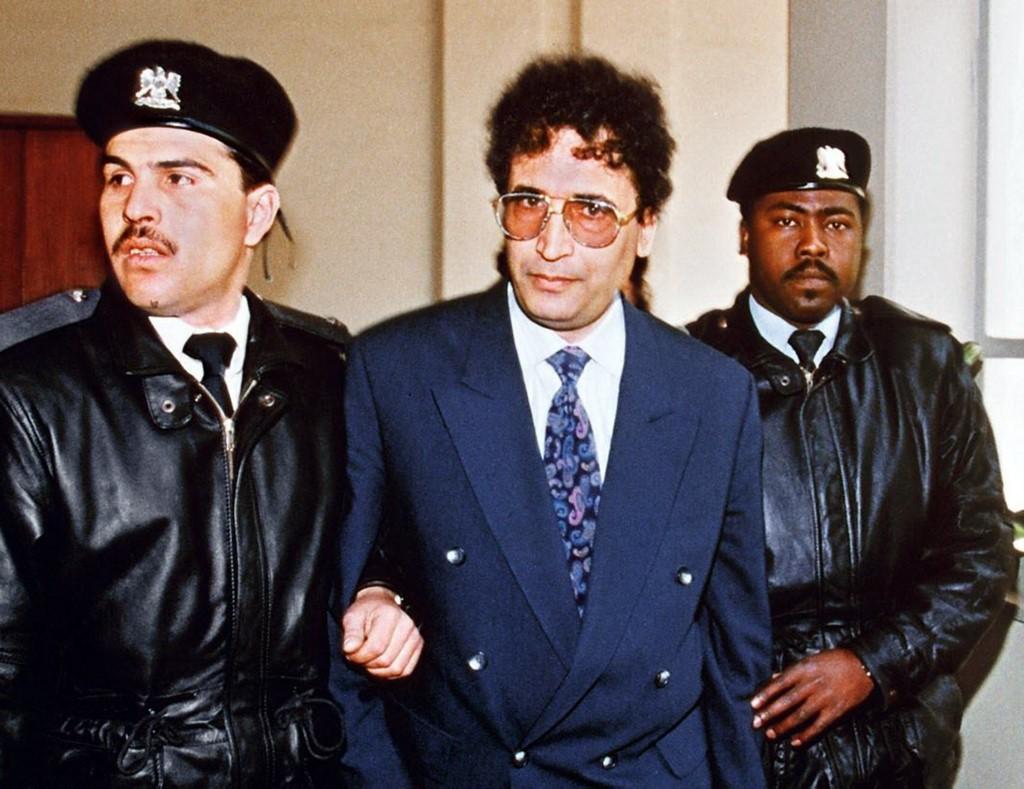 الضباط الليبي عبد الباسط المقرحي (أ ف ب)