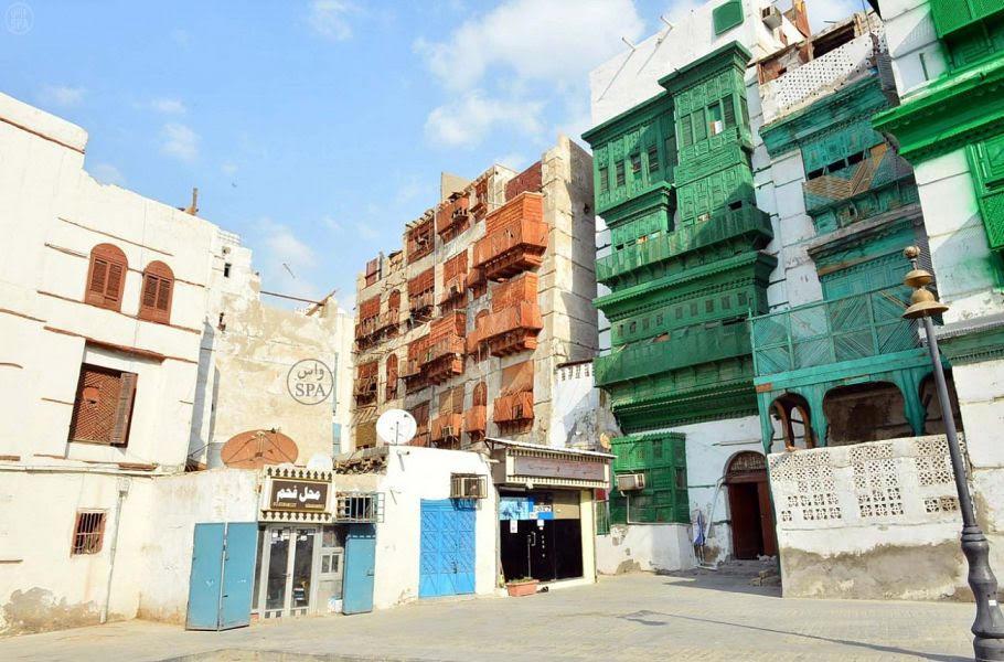جدة التاريخية أحد أهم المواقع السعودية التي انضمت لقائمة مواقع التراث العالمي باليونسكو. (واس)