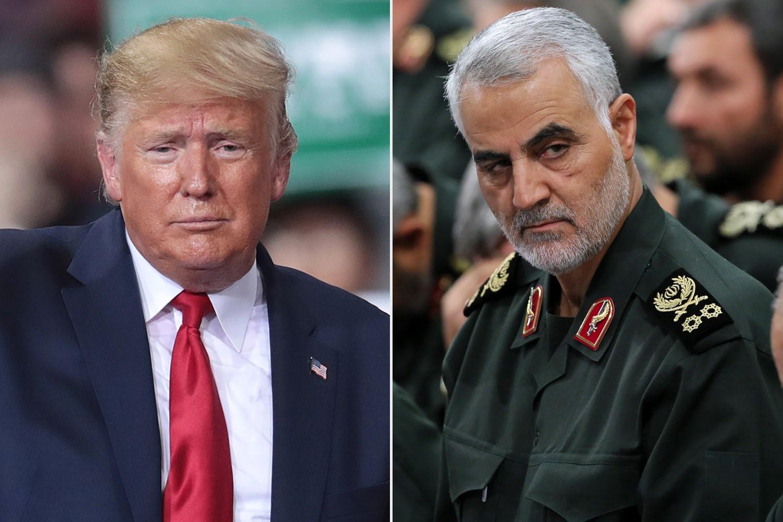 ترمب يضع حدا لتردد أوباما وبوش ويأمر بقتل قاسم سليماني. (غيتي).jpg