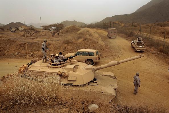 تتزود القوات المسلحة السعودية بمعدات عسكرية من الشركات الأميركية بالدرجة الأولى (غيتي)