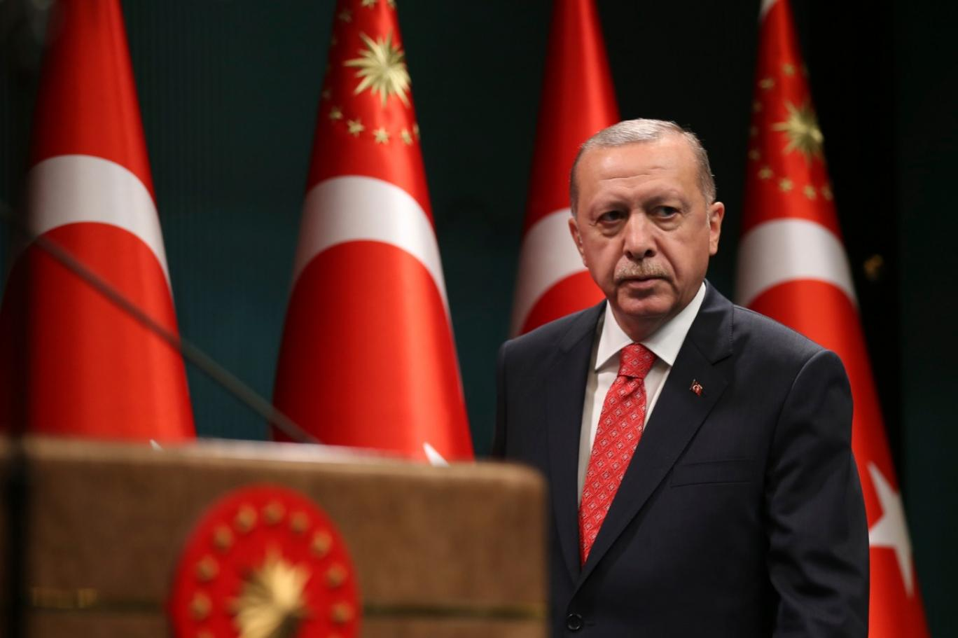 الرئيس التركي رجب طيب أردوغان (أ ب).jpeg