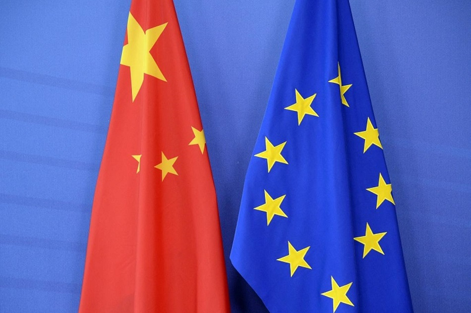 نقاط الخلاف بين الغرب والصين عديدة ومنها سوء معاملة بكين لأقلية الأويغور (أ ف ب).jpg